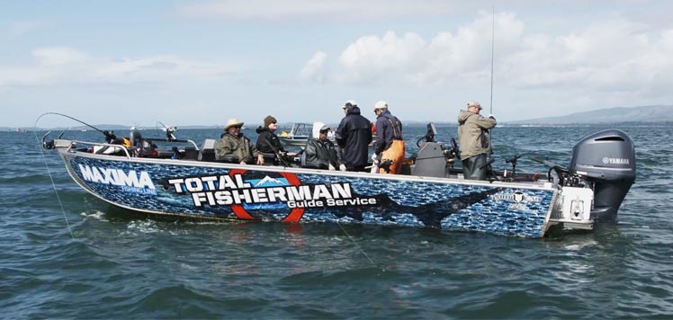 Buoy 10 fishing guides total fisherman for Fishing trips oregon