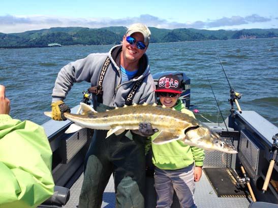 Columbia river fishing guides fishing report for Columbia river fishing guides