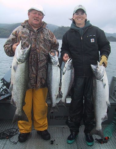 limits of columbia river chinook salmon