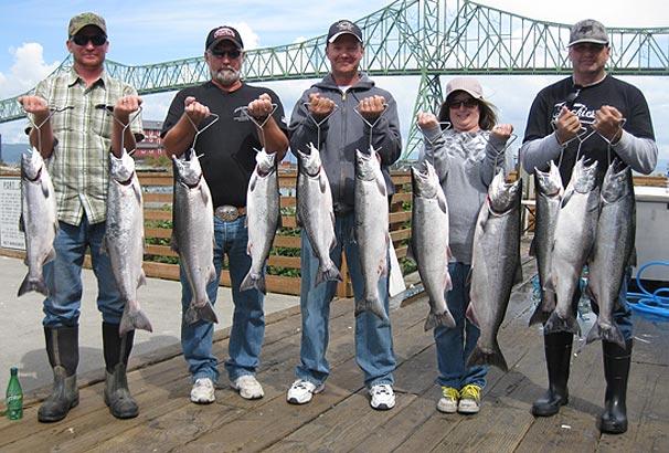 Buoy 10 Salmon Fishing