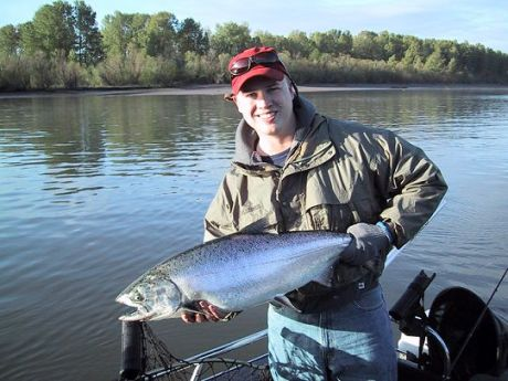 Oregon fishing guides photo gallery for Lake merwin fishing