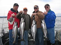 spring chinook fishing