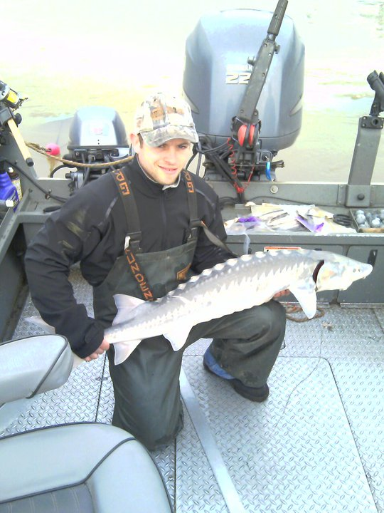 sturgeon fishing
